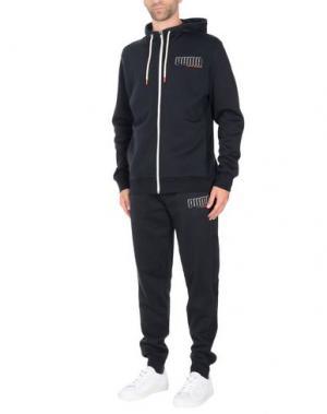 Спортивный костюм PUMA. Цвет: черный