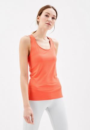 Майка спортивная ASICS FITTING TANK. Цвет: оранжевый