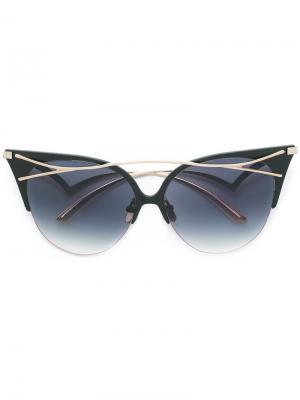 Солнцезащитные очки Twiggy Frency & Mercury. Цвет: черный