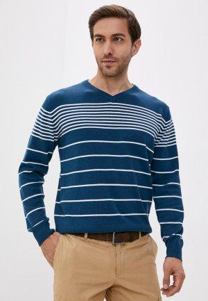 Пуловер Blue Seven. Цвет: синий