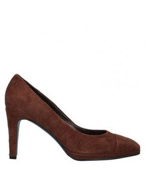 Туфли CRISTIAN DANIEL. Цвет: коричневый