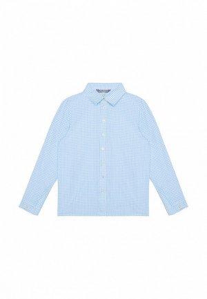 Рубашка My Junior. Цвет: голубой