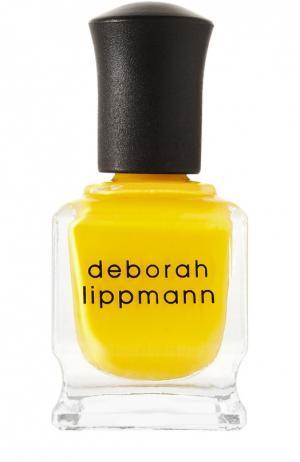 Лак для ногтей Walking On Sunshine Deborah Lippmann. Цвет: бесцветный