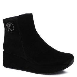 Ботинки 80662 черный KELTON