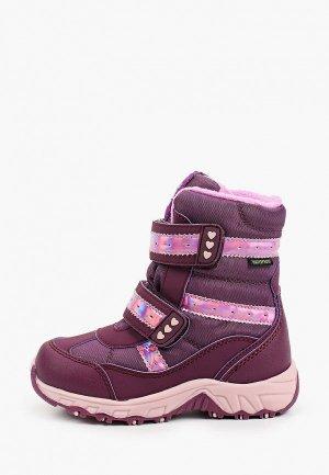 Ботинки Makfly. Цвет: фиолетовый