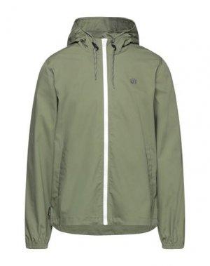 Куртка ELEMENT. Цвет: зеленый-милитари