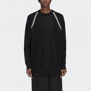 Свитер Y-3 Classic Sheer Knit by adidas. Цвет: черный