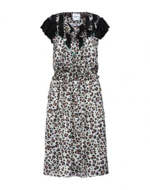 Платье до колена ANNARITA N TWENTY 4H. Цвет: бежевый