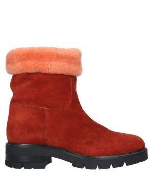 Полусапоги и высокие ботинки TIFFI. Цвет: ржаво-коричневый