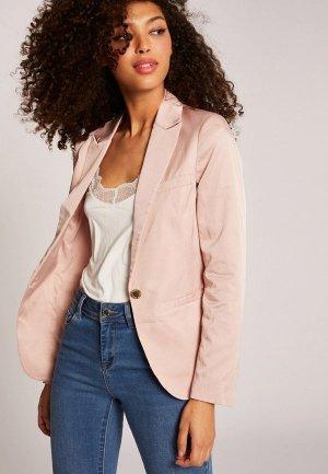 Пиджак Morgan. Цвет: розовый