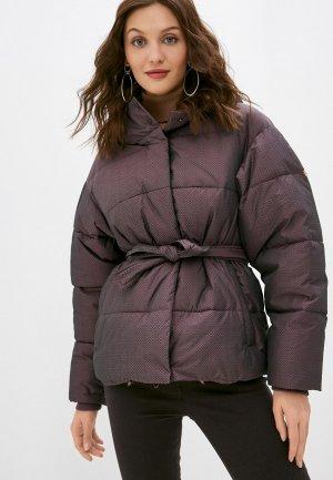Куртка утепленная Dimma. Цвет: фиолетовый