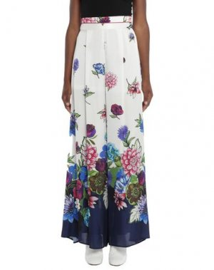 Длинная юбка CANNELLA. Цвет: белый