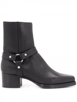 Ковбойские ботинки Dsquared2. Цвет: черный