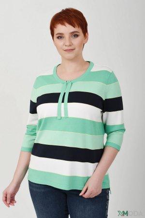 Пуловер Frank Walder. Цвет: зелёный