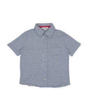 Pубашка COCCOBIRILLO by BABY GRAZIELLA. Цвет: темно-синий