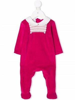 Пижама с контрастной отделкой Paz Rodriguez. Цвет: красный