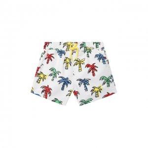 Плавки-шорты Stella McCartney. Цвет: белый