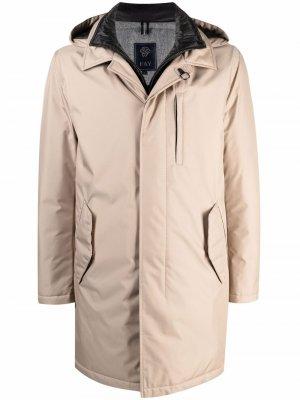 Double Front raincoat Fay. Цвет: нейтральные цвета