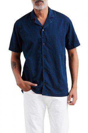 Рубашка джинсовая CUBANO SHIRT Levis Levi's. Цвет: синий