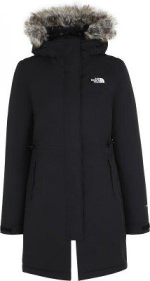 Куртка утепленная женская Zaneck, размер 48-50 The North Face. Цвет: черный