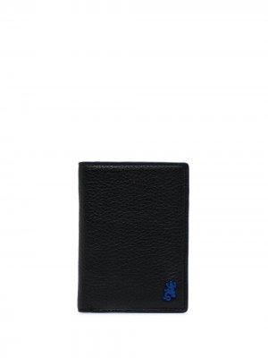 Кошелек с логотипом agnès b.. Цвет: черный
