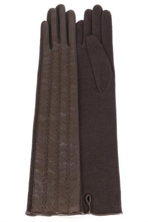 Перчатки Dali Exclusive. Цвет: горький шоколад