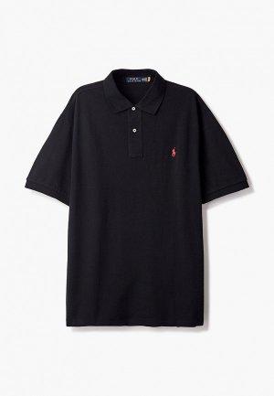 Поло Polo Ralph Lauren Big & Tall. Цвет: черный