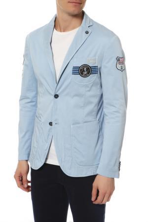 Пиджак HARMONT & BLAINE. Цвет: голубой