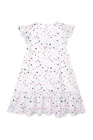 Ночная сорочка PlayToday. Цвет: белый