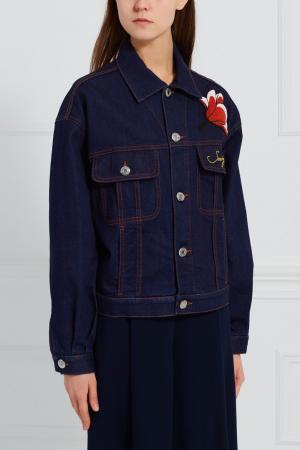 Джинсовая куртка See By Chloé. Цвет: синий