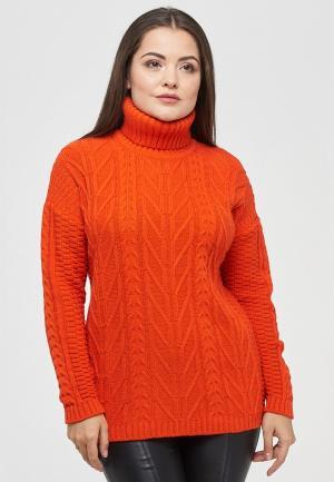 Свитер Vay. Цвет: оранжевый