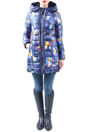 Куртка EVA Milano. Цвет: мультицвет