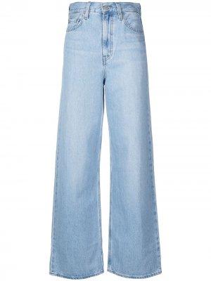 Levis расклешенные джинсы с завышенной талией Levi's. Цвет: синий