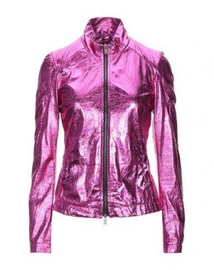 Куртка 10SEI0OTTO. Цвет: фуксия