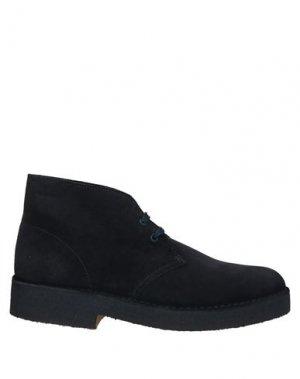 Полусапоги и высокие ботинки CLARKS. Цвет: темно-синий