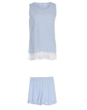 Пижама BLUGIRL BLUMARINE. Цвет: небесно-голубой