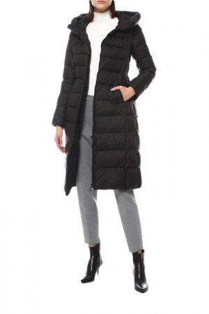 Пальто La Reine Blanche. Цвет: black