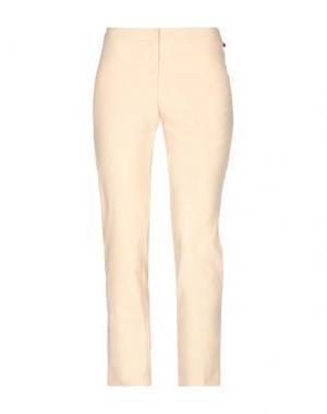 Повседневные брюки BETTY BLUE. Цвет: песочный
