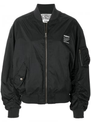 Lou bomber jacket Fiorucci. Цвет: черный