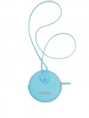 Кошелек Le Pitchou с ланъярдом Jacquemus. Цвет: синий