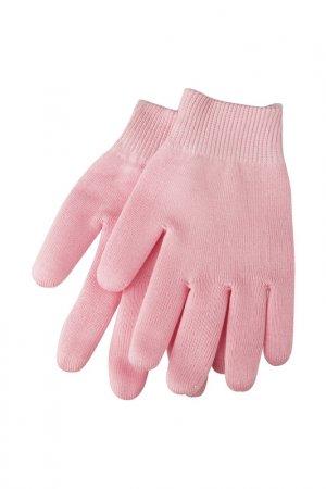 Гелевые перчатки увлажняющие Beauty Style. Цвет: розовый
