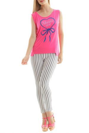 T-shirt SHIRTS WE LOVE. Цвет: fuchsia