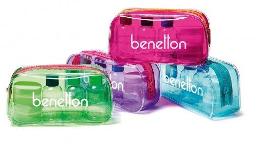 Косметичка Benetton. Цвет: без выбора цвета