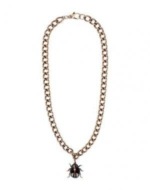 Ожерелье ESSENTIEL ANTWERP. Цвет: бронзовый
