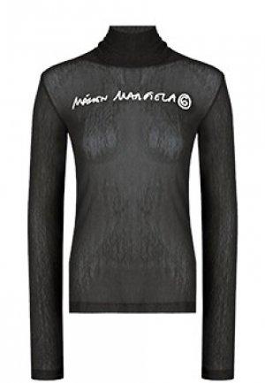 Топ MM6 Maison Margiela. Цвет: черный