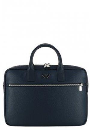 Портфель EMPORIO ARMANI. Цвет: синий