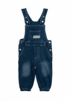 Комбинезон джинсовый PlayToday. Цвет: синий