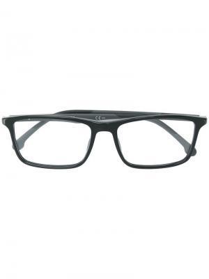 Очки в оправе прямоугольной формы Carrera. Цвет: черный