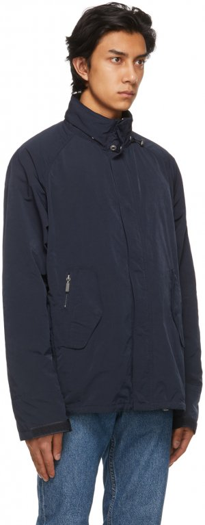 Navy Transporter Casual Jacket Barbour. Цвет: navy