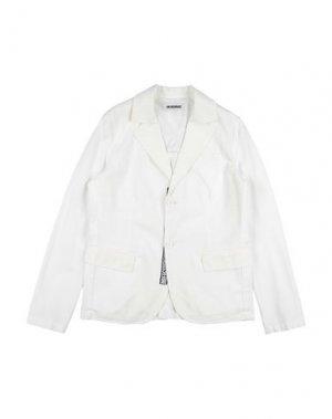 Пиджак DIRK BIKKEMBERGS. Цвет: белый